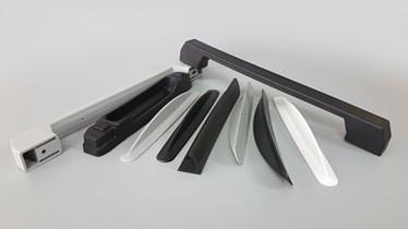 Uchwyty do lodówek i szaf oraz drzwi regałów chłodniczych z poliamidu lub z ABS