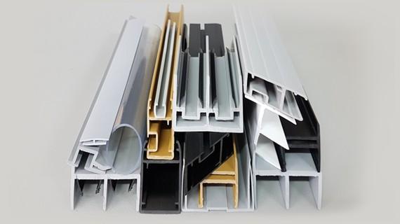 Profile PVC do drzwi przesuwnych w szafach chłodniczych, lodówkach, regałach chłodniczych